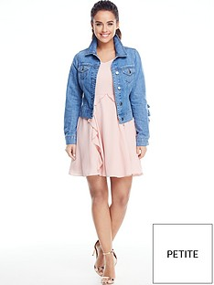 v-by-very-petite-frill-detail-denim-jacket