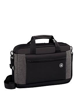 Wenger Wenger Underground 16 Inch Laptop Case Black