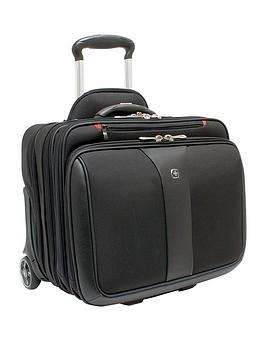 Wenger Patriot Wheeled Laptop Case Black