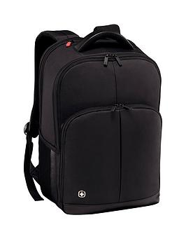 Wenger Wenger Link 16 Inch Laptop Backpack Black
