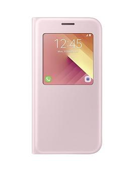 samsung-2017-stylish-s-view-cover-for-galaxy-a5-pink