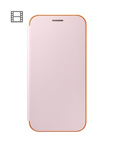 samsung-2017-stylish-neon-flip-wallet-cover-for-galaxy-a5-pink