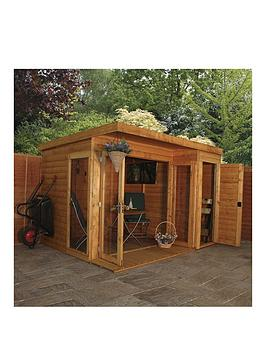 mercia-10-xnbsp8ft-premium-garden-room-summerhouse-with-side-shed