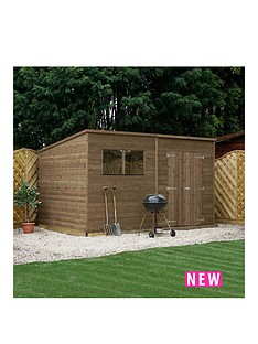 mercia-10-x-8ft-pressure-treated-shiplap-pent-shed