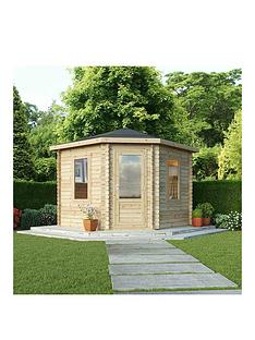 mercia-3-x-3m-28mm-corner-log-cabin