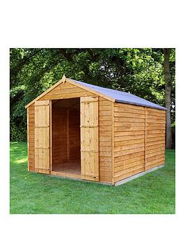 mercia-10-xnbsp8ft-overlap-windowless-apex-shed