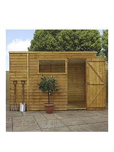 mercia-10-xnbsp6ft-overlap-pent-shed