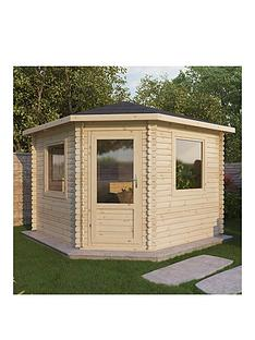 mercia-4-x-4m-28mm-corner-log-cabin