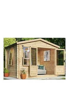 mercia-33-x-3m-19mm-sherwood-log-cabin
