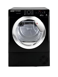 hoover-dncd813bb-dynamic-8kg-aquavision-condenser-sensor-tumble-dryer-next-day-delivery-black