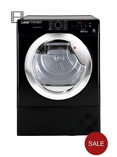 hoover-dncd813bb-dynamic-8kg-aquavision-condenser-sensor-tumble-dryer-next-day-delivery-black