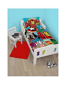marvel-marvel-comic-strike-toddler-duvet-cover-set