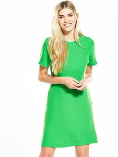 warehouse-cross-back-dress-green