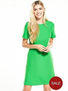 warehouse-cross-back-dress-green