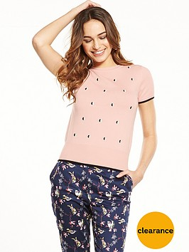 oasis-spot-knit-jumper