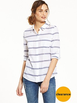 oasis-casual-cotton-stripe-shirt