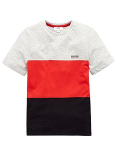 boss-boys-short-sleeve-colourblock-t-shirt