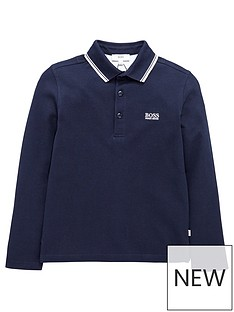 boss-print-logo-short-sleeve-polo