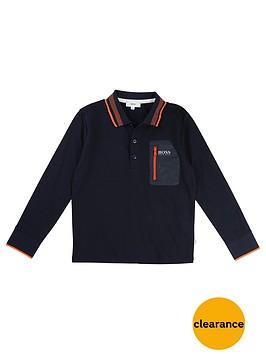 boss-boys-long-sleeve-jersey-polo
