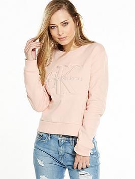 calvin-klein-jeans-harper-true-icon-logo-sweat-top-peachy-keen