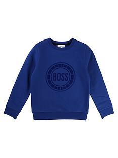 boss-boys-logo-sweatshirt