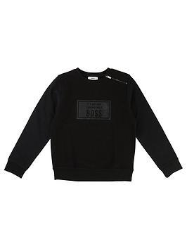 boss-boys-slogan-sweatshirt