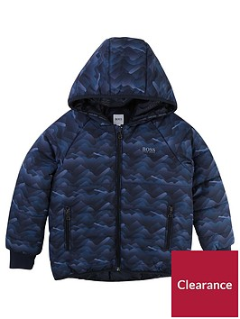 boss-boys-print-padded-coat