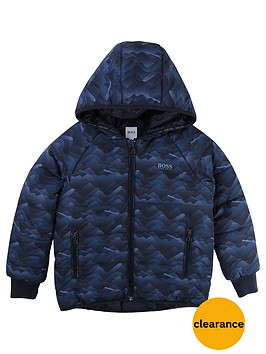 boss-boys-print-padded-coat