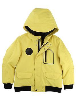 boss-boys-hooded-contrast-coat