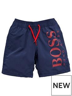 boss-boys-logo-swim-shorts