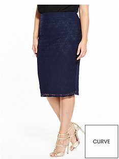 v-by-very-curve-curve-lace-co-ord-midi-skirt-navy