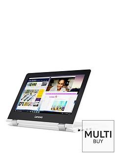 lenovo-lenovo-yoga-300-11ibr-intel-celeron-4gb-ram-500gb-hard-drive-116in-touchscreen-2-in1-laptop-whitenbsp