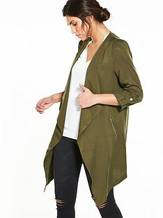 wallis-tencel-jacket-khaki