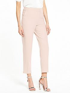 wallis-giglio-slim-leg-trouser-blush