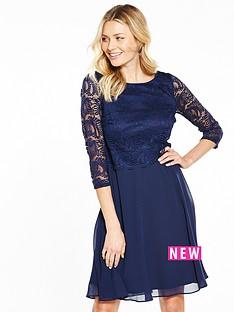 wallis-wallis-lace-fit-and-flare-dress