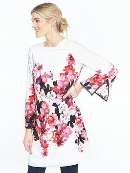 wallis-pink-posie-print-tunic
