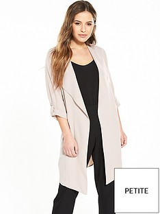 wallis-petite-lightweight-marcel-waterfall-jacket