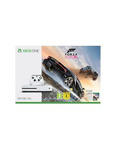 xbox-one-s-500gb-console-with-forza-horizon-3nbspplus-optional-extra-controller-andor-12-months-xbox-live-gold