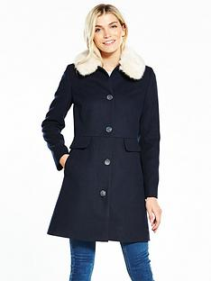 v-by-very-dolly-coat-with-faux-fur-collar-navy