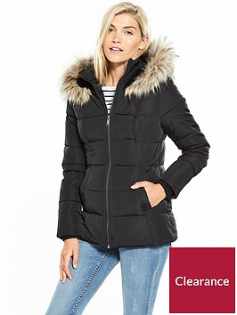v-by-very-short-faux-fur-trim-quiltednbspcoat