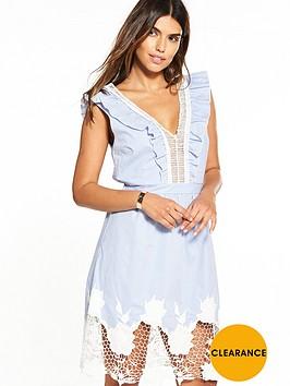 v-by-very-crochet-lace-stripe-dress