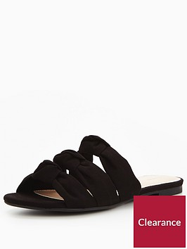 v-by-very-knotted-slider-black