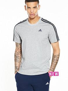 adidas-essentials-3-stripe-short-sleevenbspt-shirt