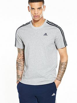 adidas-essentials-3-stripe-short-sleevenbspt-shirt