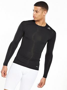 adidas-tech-fit-base-long-sleeve-t-shirt