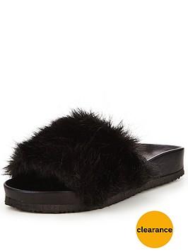 v-by-very-teddy-fluffy-slides--black