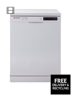 Hoover Dynamic Mega HDP2D62W 16-Place Dishwasher - White Best Price, Cheapest Prices