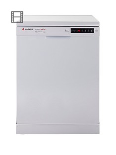 Hoover Dynamic Mega HDP2D62W 16-Place Dishwasher - White