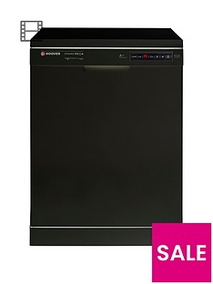 Hoover Dynamic Mega HDP2D62B 16-Place Dishwasher - Black