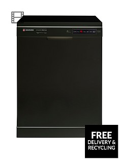 Hoover Dynamic Mega HDP2D62B 16-Place Dishwasher - Black Best Price, Cheapest Prices